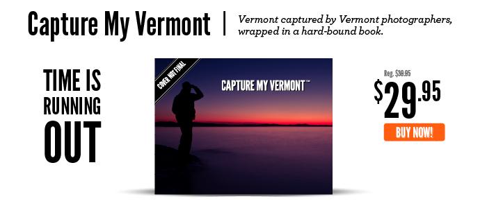 Capture My Vermont book